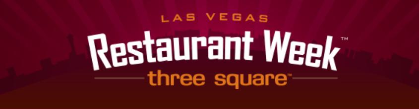 Restaurant Week Las Vegas