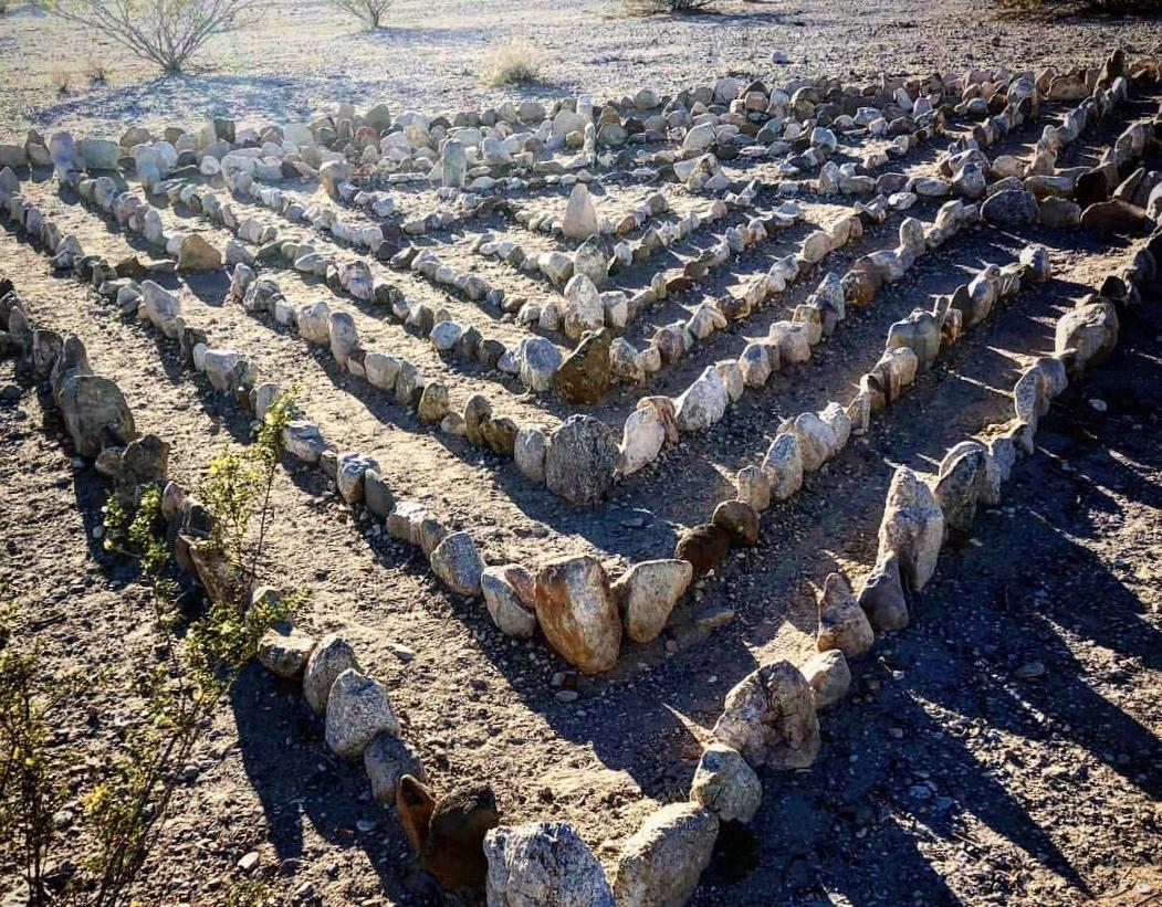 The Laughlin Labyrinths