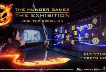 The Hunger Games Exhibition Las Vegas