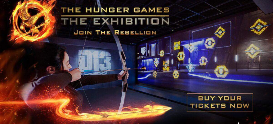 The Hunger Games Exhibition Las Vegas