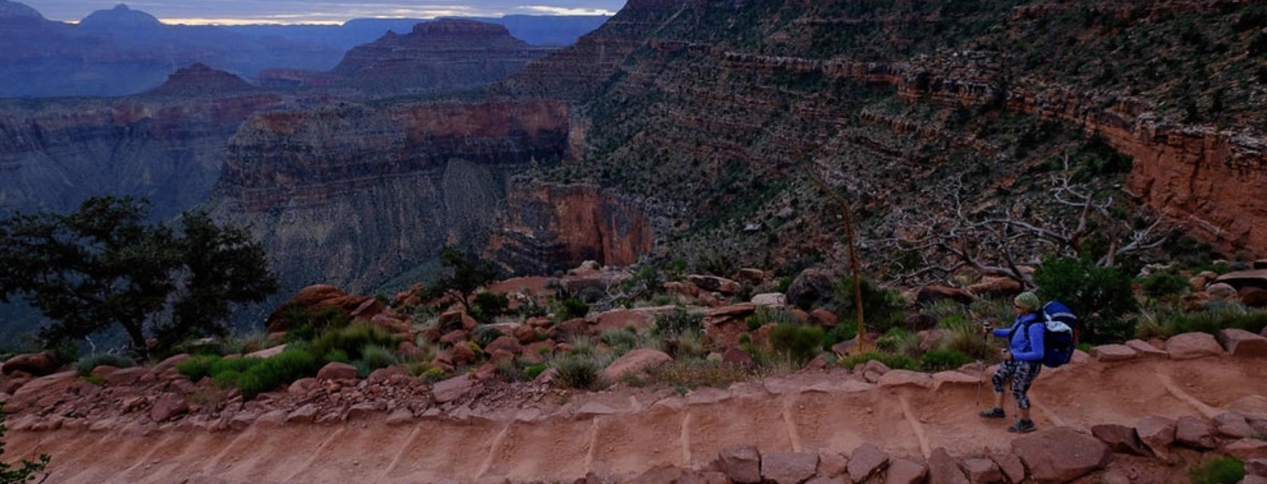Vandra i Grand Canyon