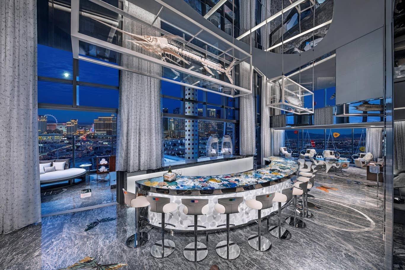 Världens dyraste hotellrum - Palms Las Vegas