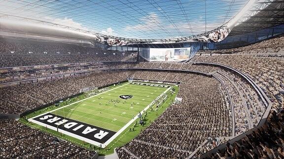 Las Vegas Raiders arena