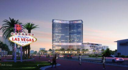 Nytt lyxhotell Las Vegas