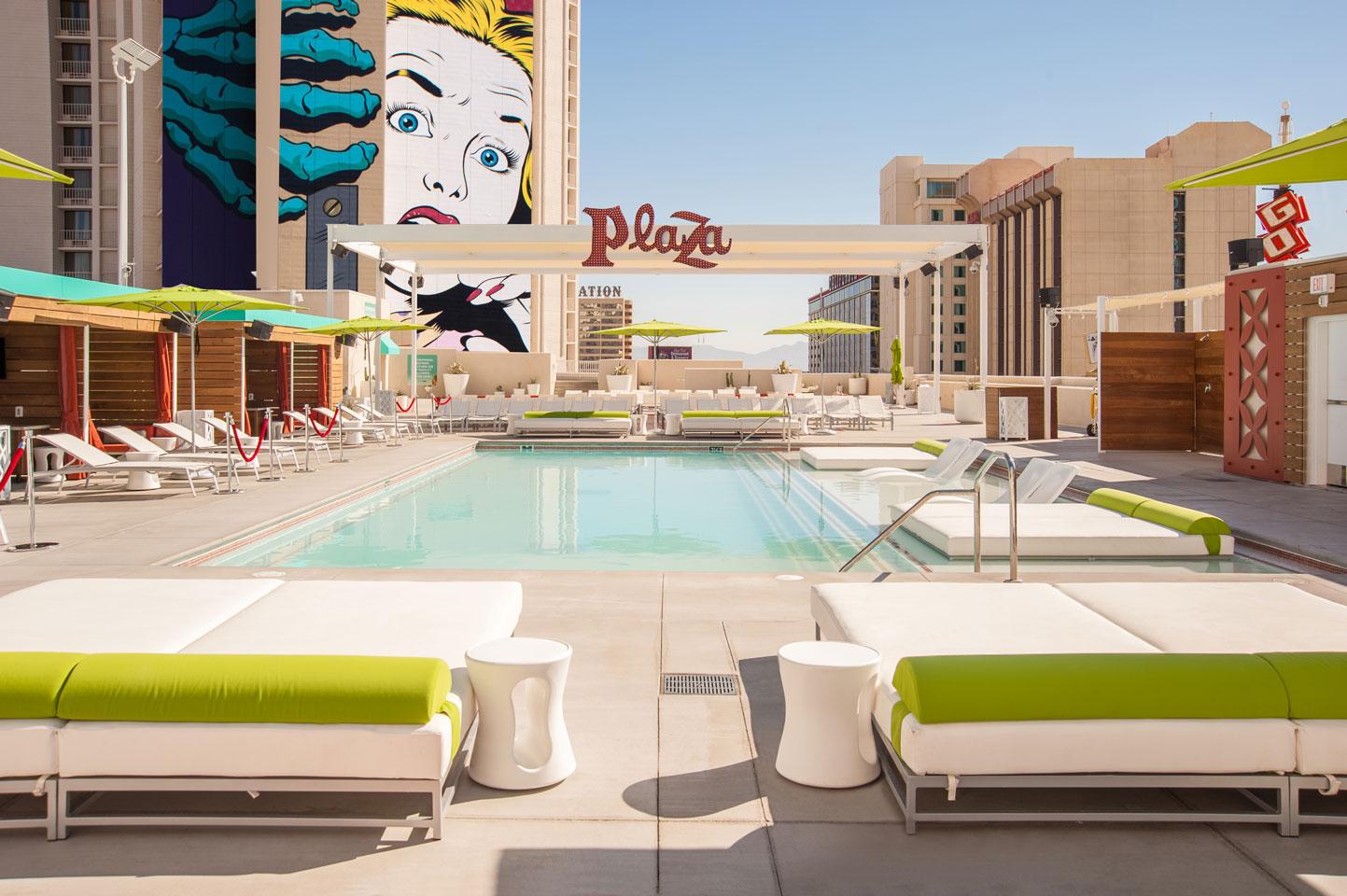 Bästa poolerna i Las Vegas