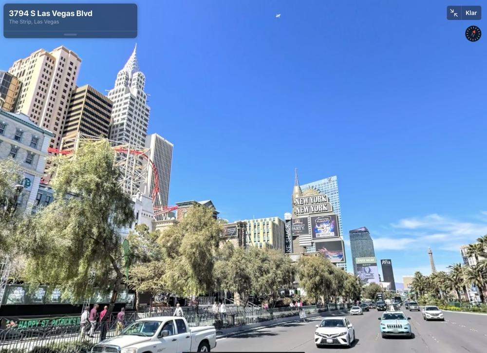 Apple Kartor Las Vegas