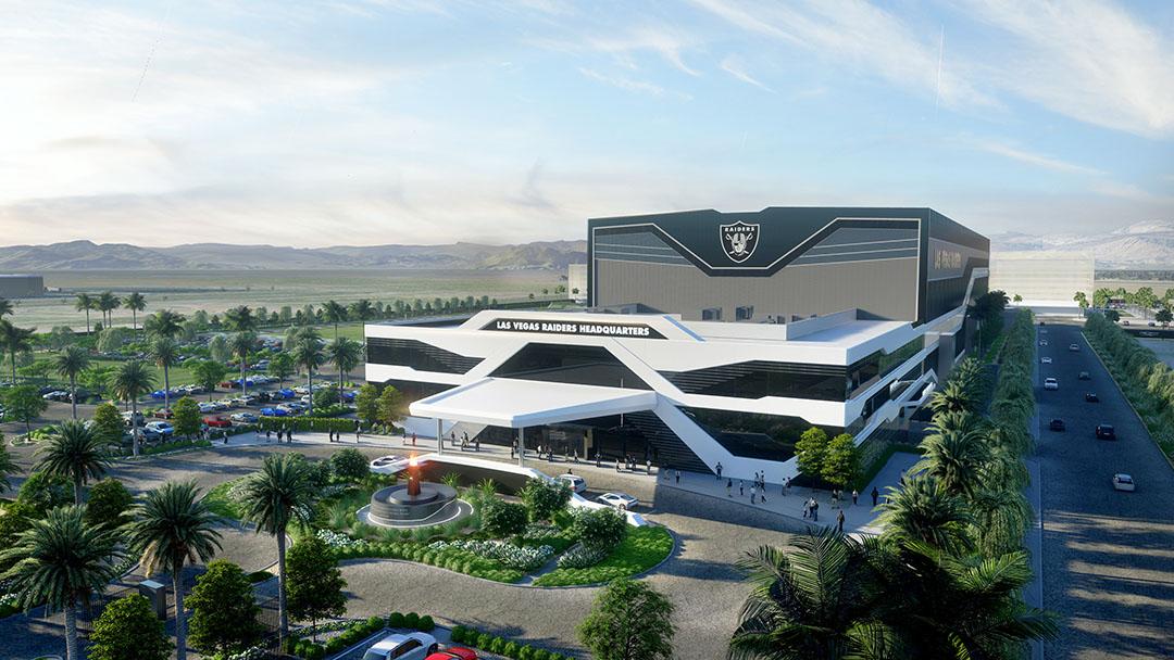 Las Vegas Raiders träningsanläggning