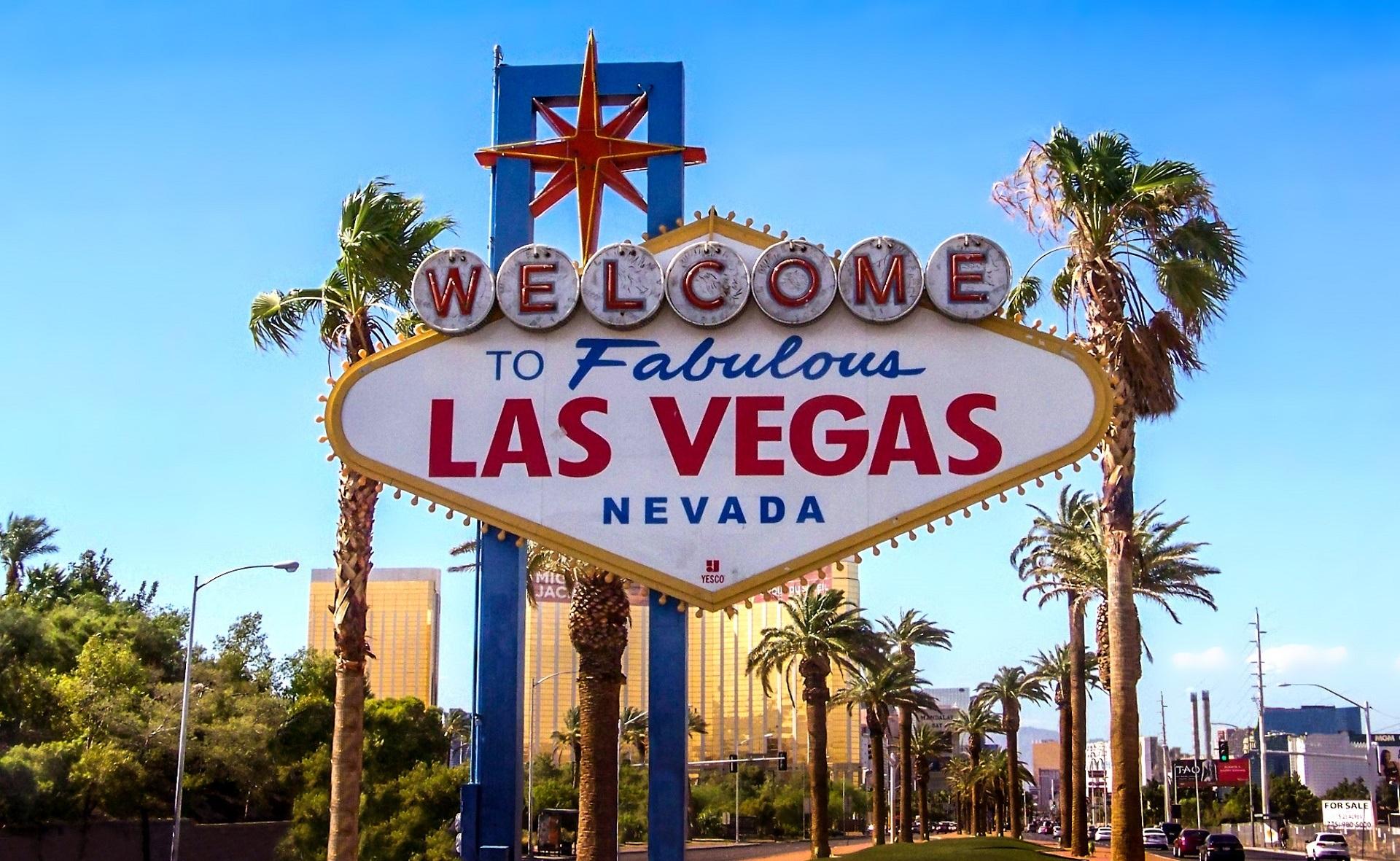 Las Vegas-skylt